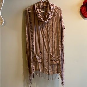 Free People pullover poncho
